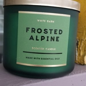 B& BW Frosted Alpine 3-Wick Candle